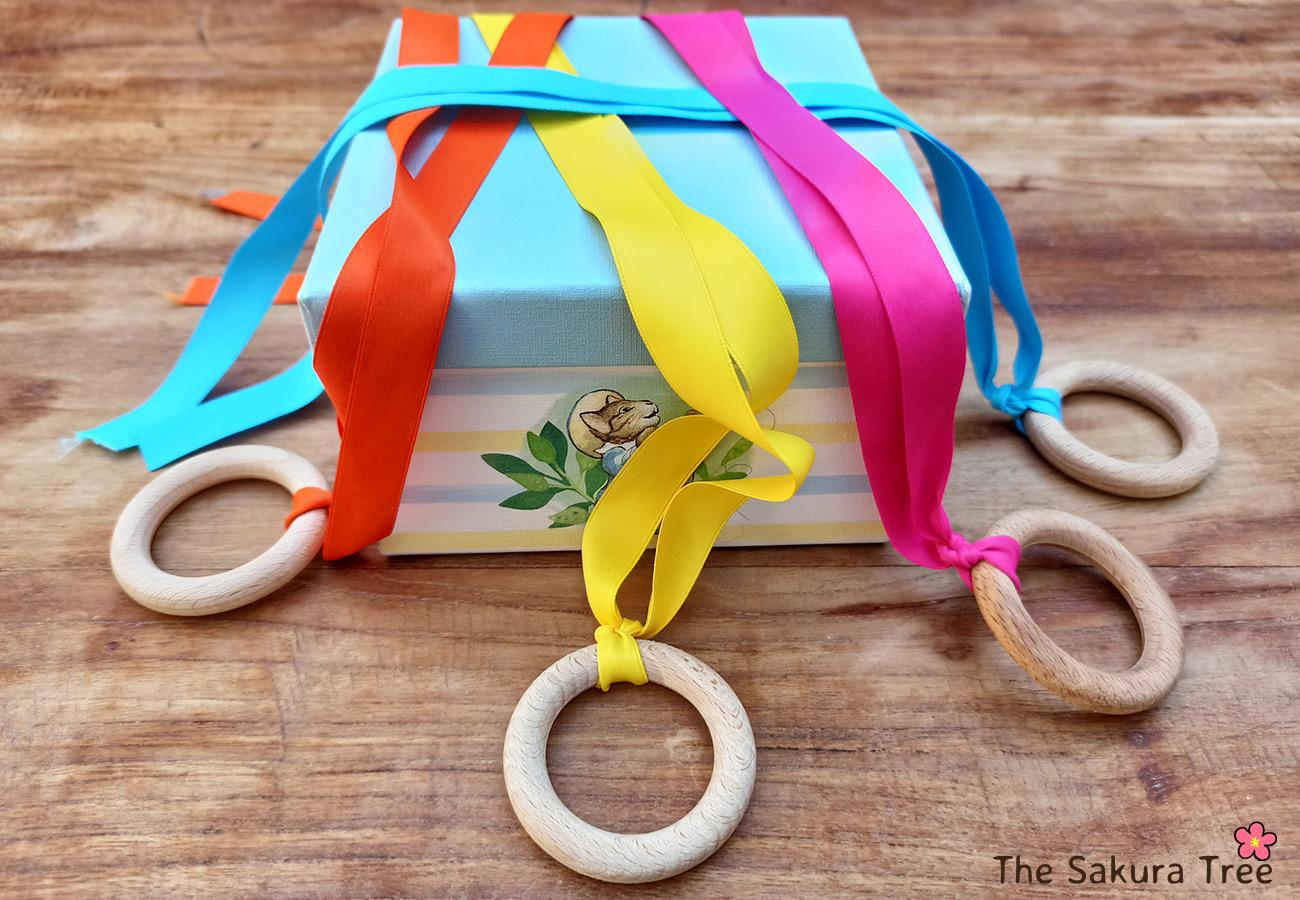 sensory ribbon rings - thesakuratree.com