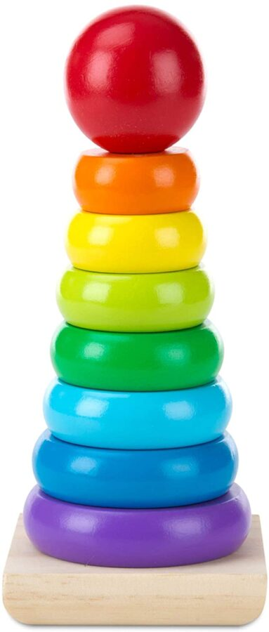 Educational stacker toy