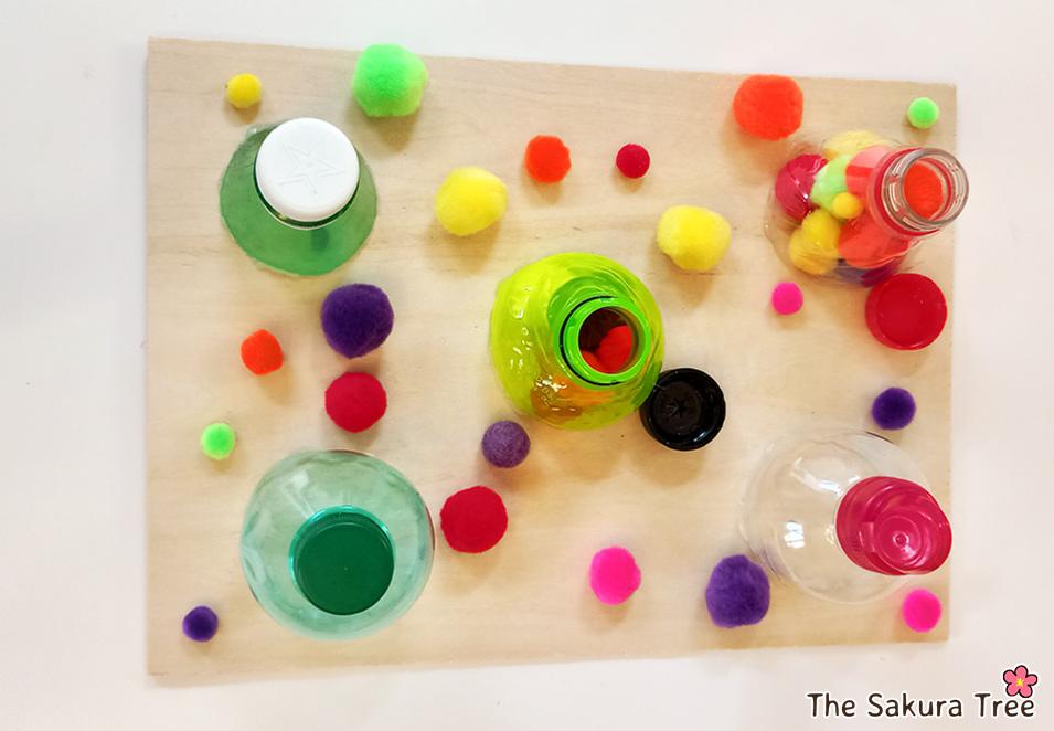 Opening and closing bottles - Montessori - blog