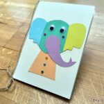Easy Handmade Elephant Card - The Sakura Tree