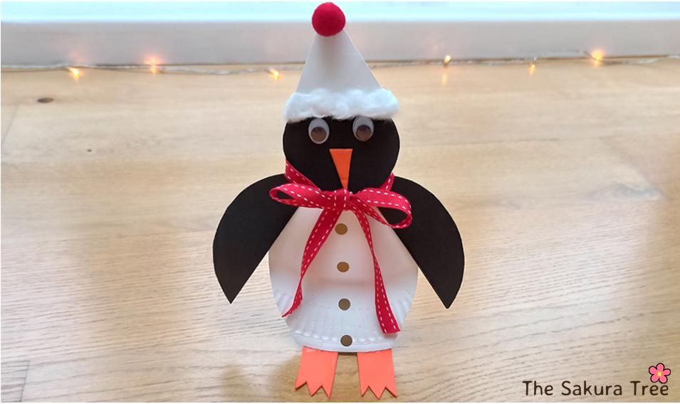 Penguin Christmas Craft for Kids