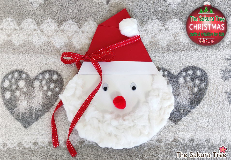 Santa Claus Craft for Kids