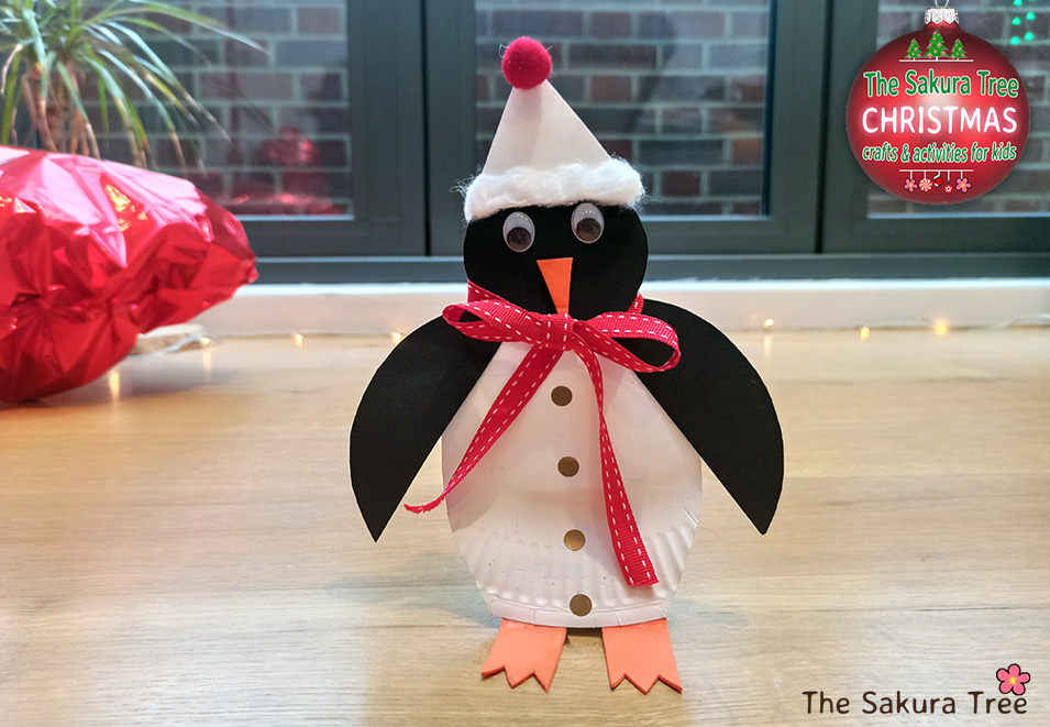 Penguin Christmas Craft for kids