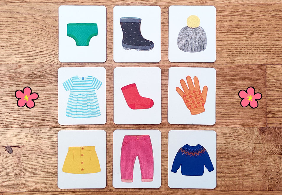 Montessori cards for Toddlers